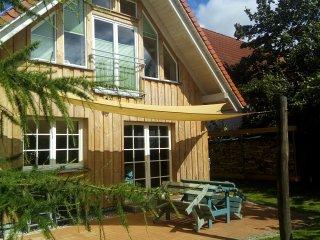 Ökologisches Strohballen Ostsee Ferienhaus