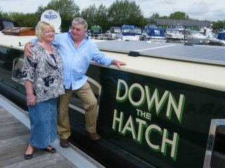 River Thames Hotel Boat - 'Down the Hatch', Reading