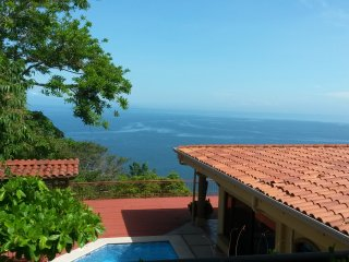Punta leona, 3 bedroom ocean view home., Herradura