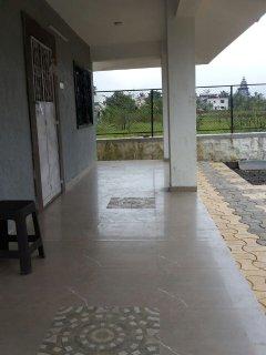 Ground floor verandah