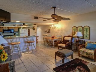 A shared pool & hot tub, across the street from beach access, Port Isabel