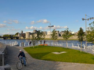 Limerick City riverfront