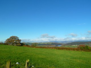 View from the property of the Blackwater river and Knockmealdown mountains