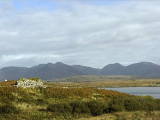 Connemara Mountain scene