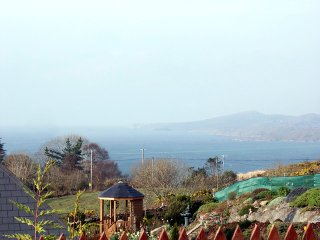 Views across Bantry Bay from the cottage