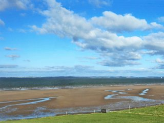 Views across the Shannon estuary to County Clare from the property