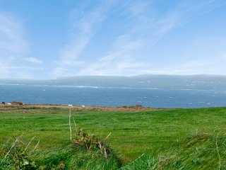 Views across the bay to Liscannor and beyond from the roadside in front of the property