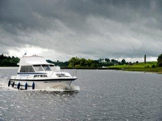 Cruiser on Lough Erne