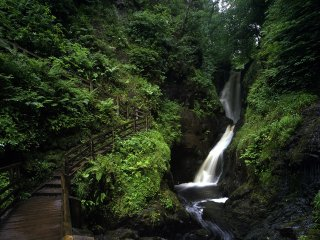 Waterfall in the Glens of Antrim