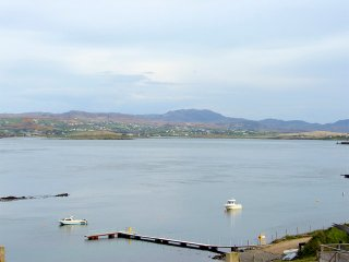 View across Mulroy Bay from the property