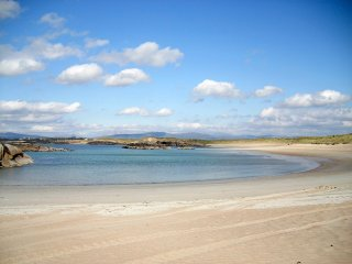 One of the many nearby beaches in this corner of Donegal