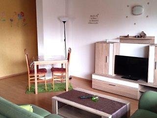 Moderne Wohnung mit 2 Schlafzimmern und Balkon