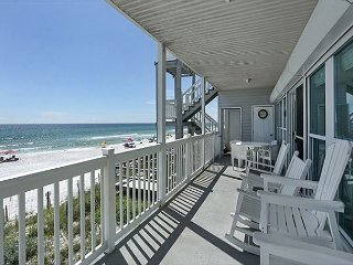 One Particular Harbor - 3BD/3BA Gulf-Front  in Santa Rosa Beach