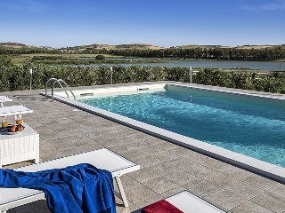 Villa Juno holiday vacation villa rental italy, sicily, trapani, pool, view