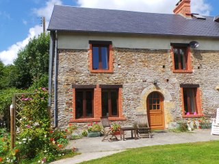 Tranquil rural setting in beautiful countryside, Cerisy-la-Salle