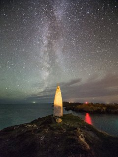 The Beacon and Milky Way.