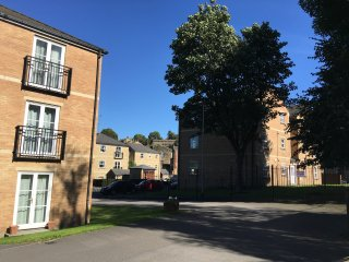 Broom Mills Farsley, 2 bed apartment with parking, Leeds