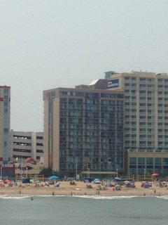 Oceanfront Condo on the Beach at Four Sails Resort, Virginia Beach