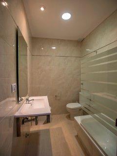 Cuarto de baño de uno de nuestros apartamentos.