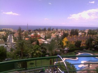 Room in Marbella with wonderful views of Gibraltar and Africa.