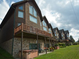 Enjoy lake and ski slope views, central location!