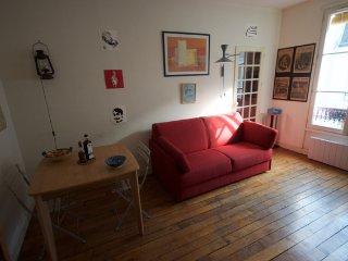 Appartement, 2 double beds, 33m2, Haut Marais