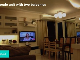 Cozy 3-Bedroom Condo with two Balconies, Taguig City