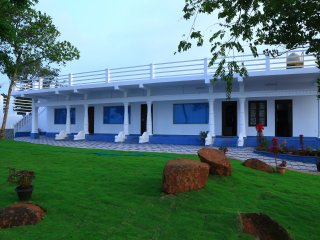luxury serviced villa with full A/C Bedroom