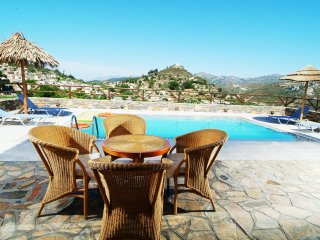 Nikoleta Villa in Picturesque Village, only 10 min drive from the Beach!