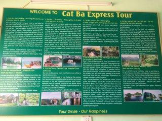 Cat Ba express tour No183 Road 1/4 Cat Ba VietNam