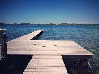 Villa Ti Piton, pieds dans l'eau, vue panoramique, Le Robert