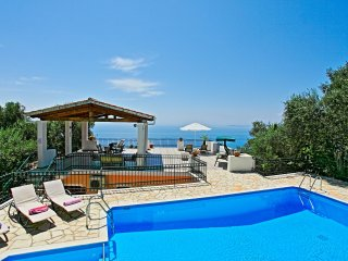 Villa Alexandros family villa with pool terrace sleeping 10 people