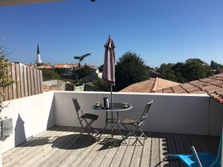 appartement  cosy vue clocher a 2 pas du centre village