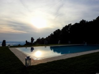 Holiday  Prato Verde HouseGinestra  with pool view, Lucca