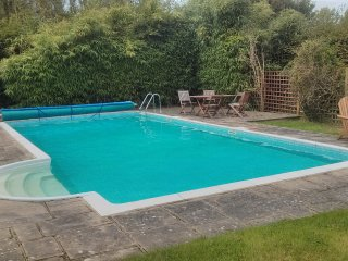 Rural West Sussex Barn with Pool