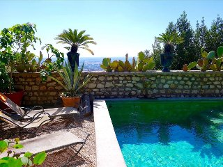 Sermoneta, Stone House with Pool, in a Fairy-Tale Hill-Town Close to Rome and