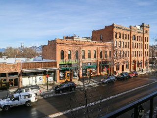 Enjoy your own balcony above downtown Bozeman