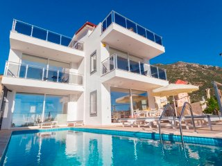 Villa Lagoon Walking Distance To Kalkan Town Villa With Seaview and Private Pool