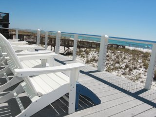 Large Gulf front budget friendly house., Pensacola Beach