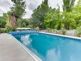 Dog-friendly home w/private pool close to downtown & Arches National Park.