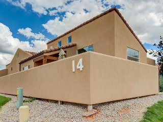 Dog-friendly home w/ private hot tub, shared pool & mountain views, Moab