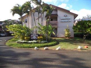 Banyan Harbor Resort 2bdrm Dec.1-8, Only $499/Week, Lihue