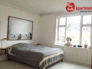 Sunny And Stylish Apartment With Balcony in Best Location - 7156, Copenhague