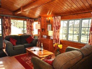 FORRO Log Cabin in Bude, Woolsery