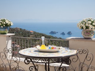 Apartment Aurora - in Sorrento coast with sea view