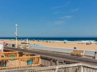 Upgraded waterfront home w/beach views & access to the Ocean City Boardwalk