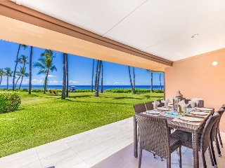 Spacious Newly Remodeled 4 Bdrm Oceanfront Unit in Premium Puamana Location, Lahaina
