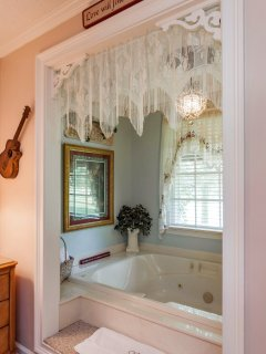 Step into Super-Sized Whirlpool Tub for Two!