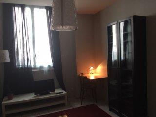 Appartement 37m2 proche gare, centre + terrasse, Grenoble