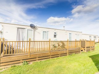 Ref  20012a  Broadland sands static caravan with 3 bedrooms and  large Decking .